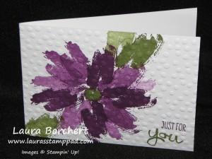 Decorative Dots Work of Art, www.LaurasStampPad.com