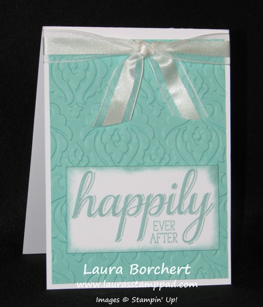 Happily Ever After, Big News, www.LaurasStampPad.com