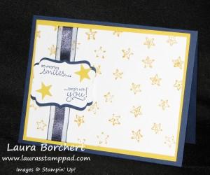 Lucky Stars Inked Folder, www.LaurasStampPad.com