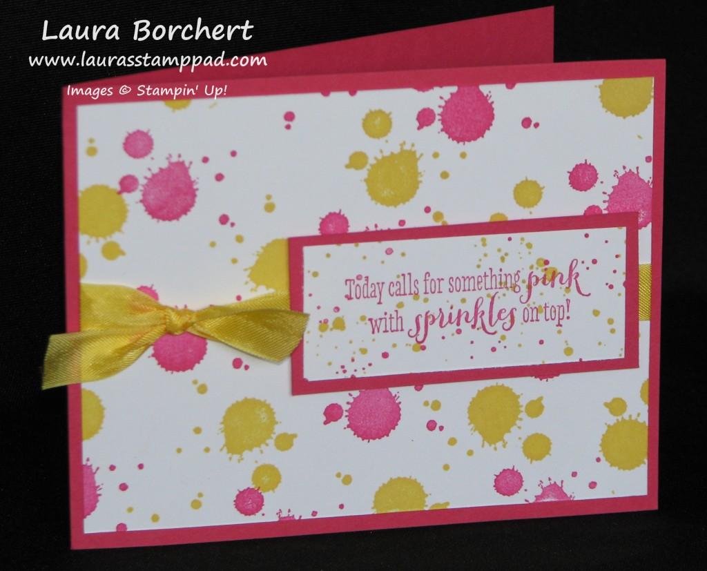 Pink & Sprinkles, www.LaurasStampPad.com