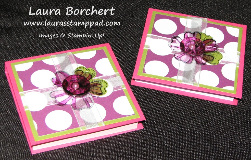 Post-It Note Holders, www.LaurasStampPad.com