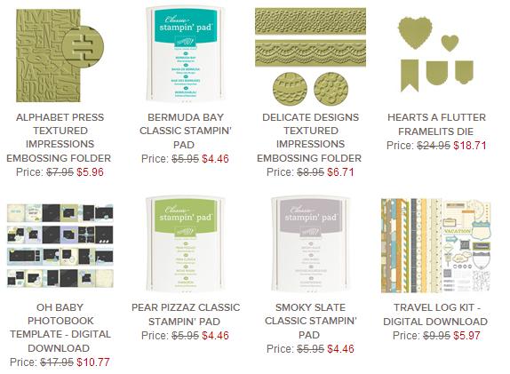 Weekly Deals 8.8.2014
