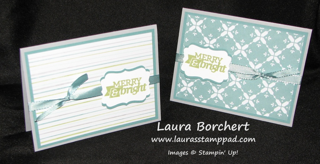 Merry & Bright Christmas Bliss, www.LaurasStampPad.com