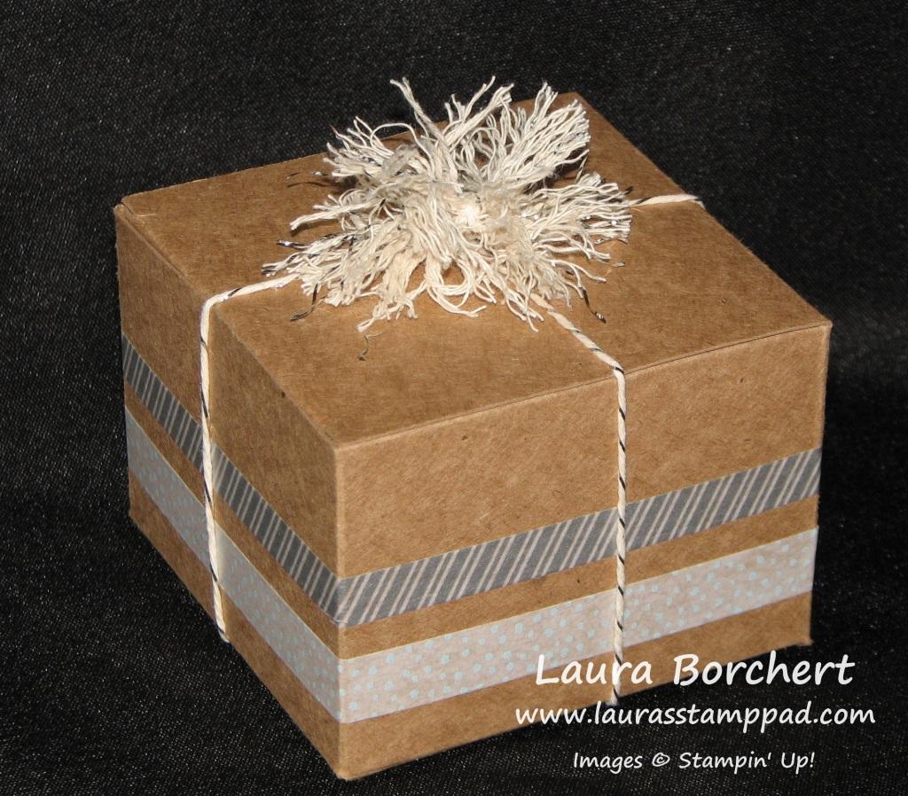 Pom Pom Box, www.LaurasStampPad.com