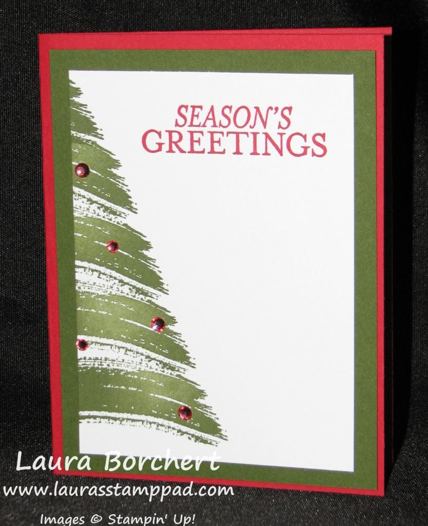Work of Art Tree, www.LaurasStampPad.com