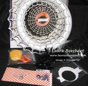 Frightful Wreath Supplies, www.LaurasStampPad.com
