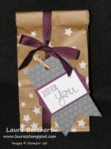 Petite Cafe Bag, www.LaurasStampPad.com