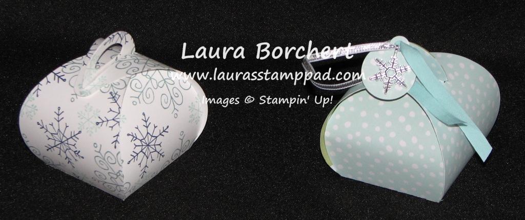 Curvy Keepsake Box, www.LaurasStampPad.com