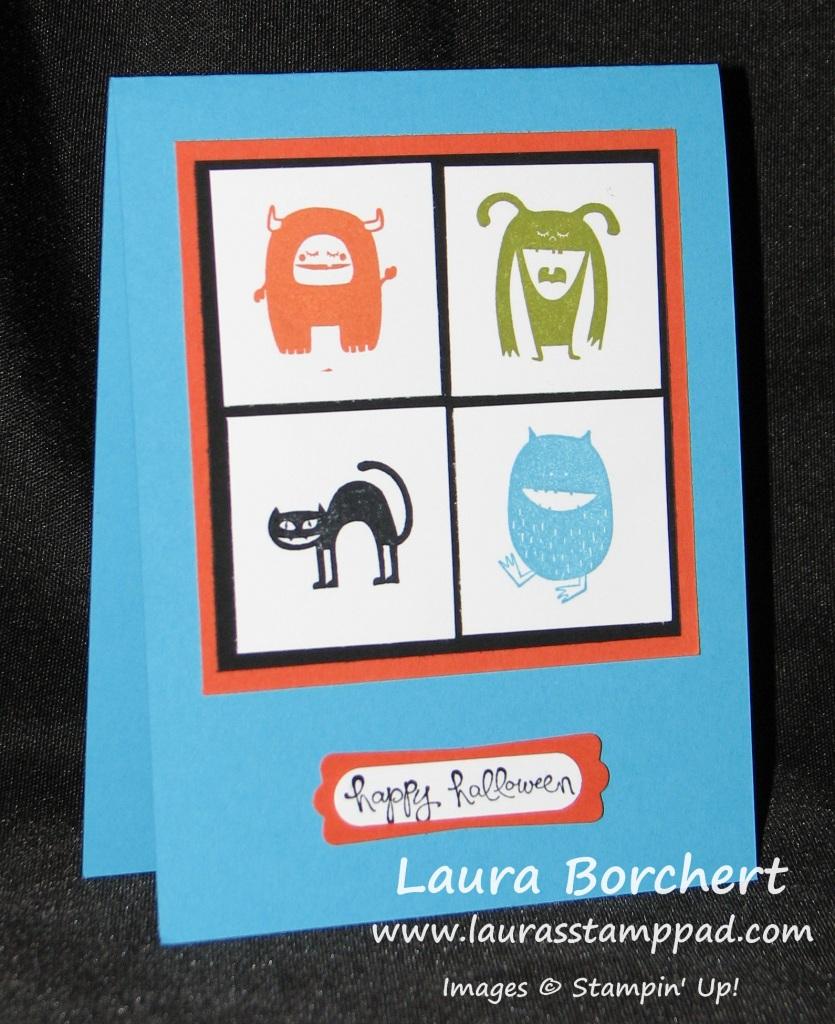 Freaky Friends, www.laurasstamppad.com