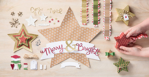 Many Merry Stars Kit, www.LaurasStampPad.com