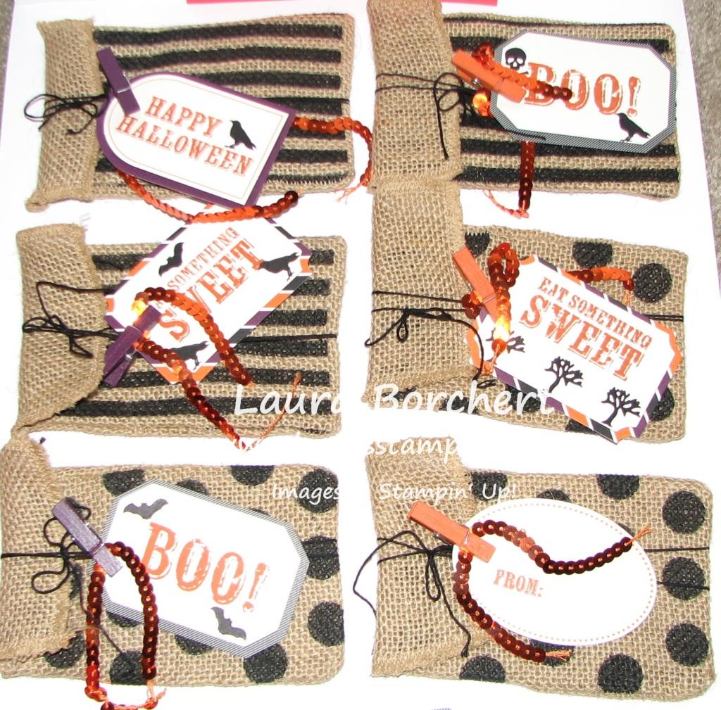 September Paper Pumpkin Goodie Bags, www.LaurasStampPad.com