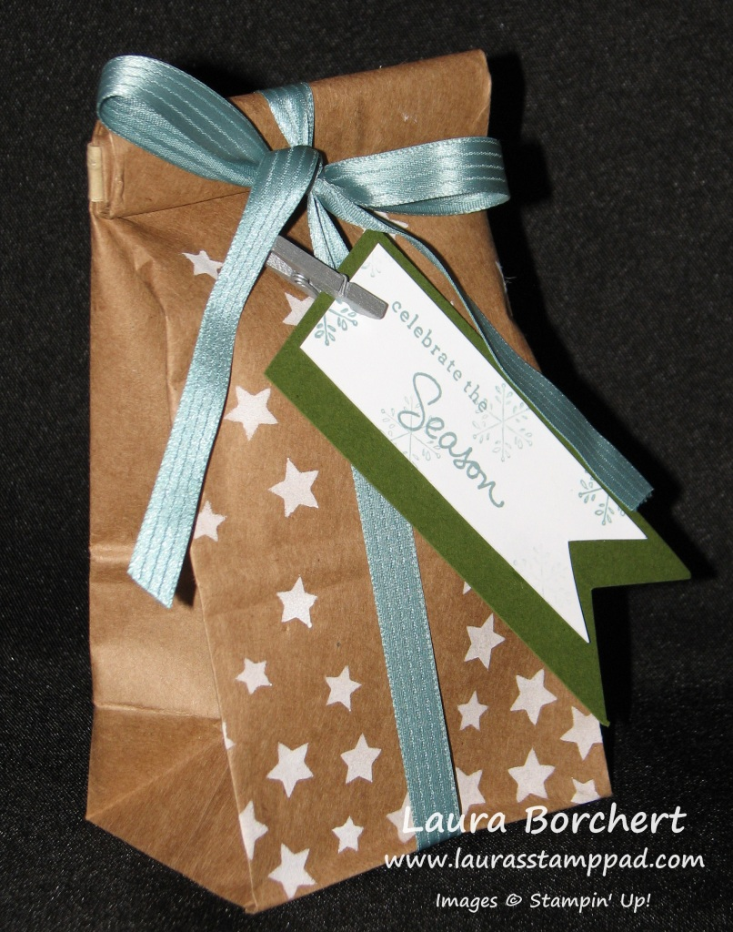 Stars Cafe Bag, www.LaurasStampPad.com