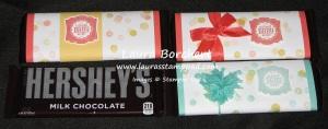 Baby Hershey Bars, www.LaurasStampPad.com