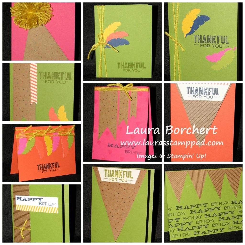 Paper Pumpkin Samples, www.LaurasStampPad.com