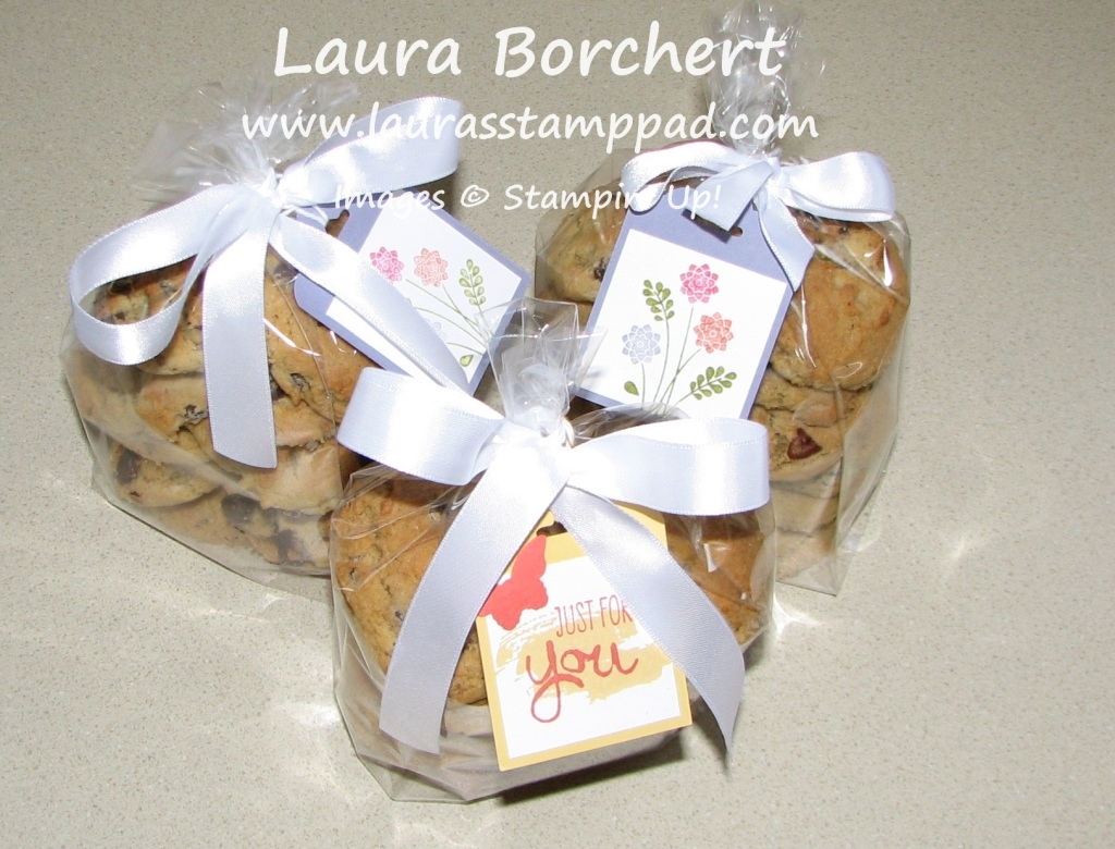 Gift Tags Cookies, www.LaurasStampPad.com