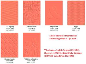 Embossing Folders Sale