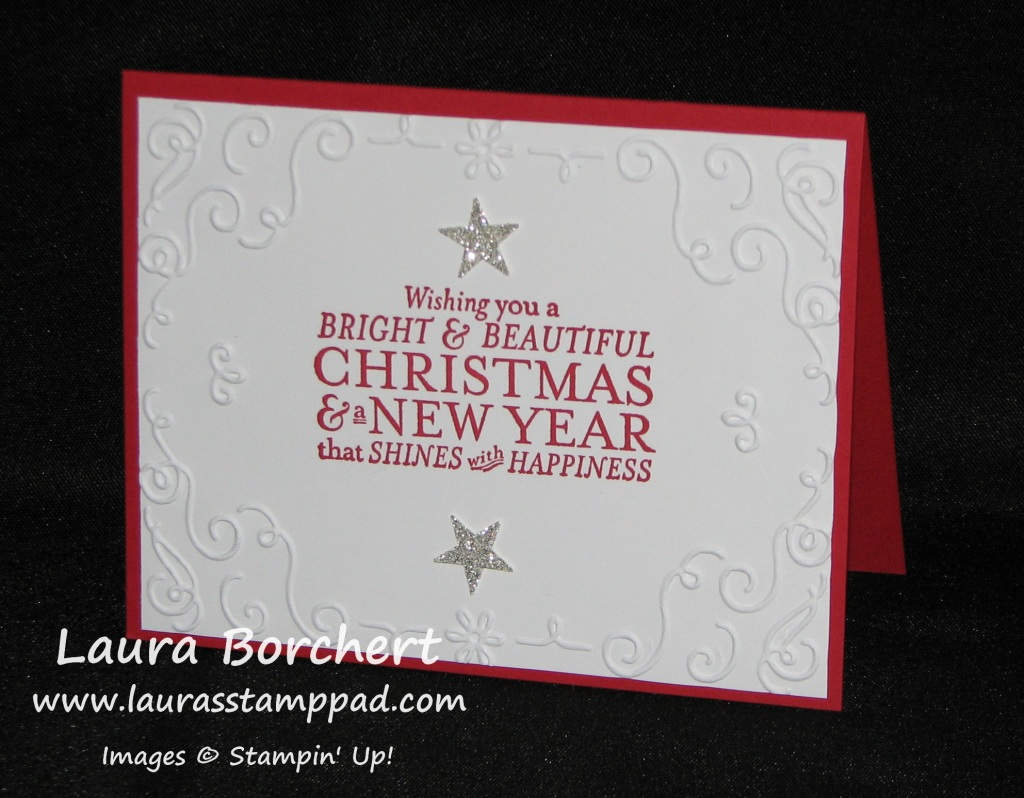 Filigreee Christmas, www.LaurasStampPad.com