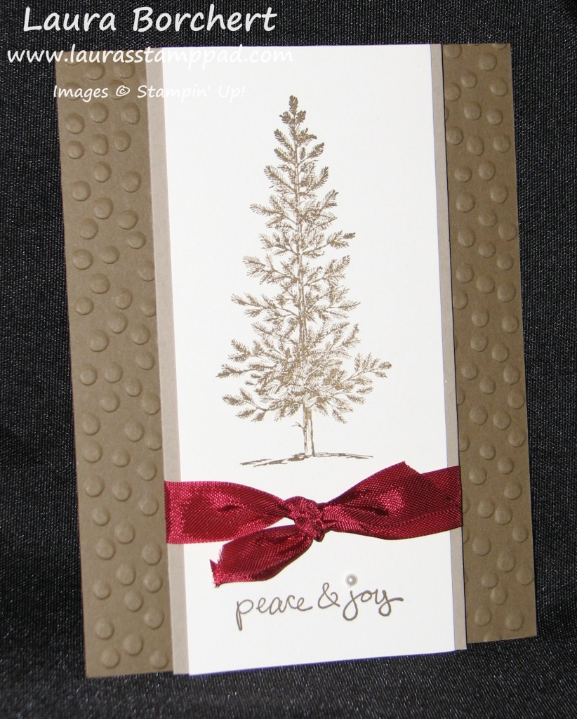 Lovely As A Tree, www.LaurasStampPad.com