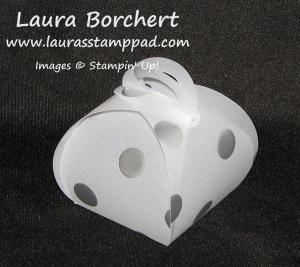Vellum Lantern Curvy Keepsake Box, www.LaurasStampPad.com