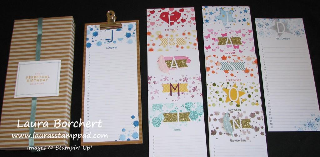 Every Year Calendar : Birthday calendar for every year laura s stamp