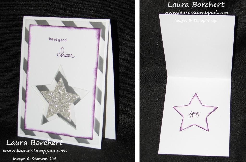 Glimmer Vellum Stars, www.LaurasStampPad.com