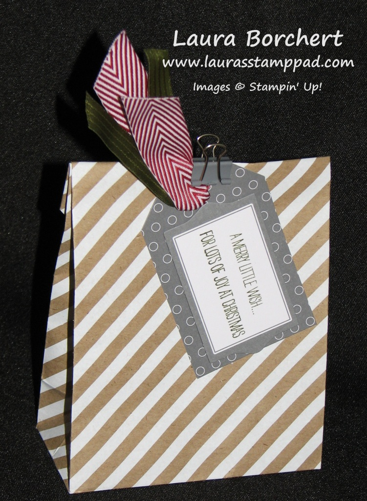 Gift Packaging, www.LaurasStampPad.com