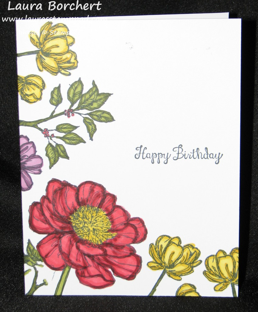 Blooming with Hope, www.LaurasStampPad.com