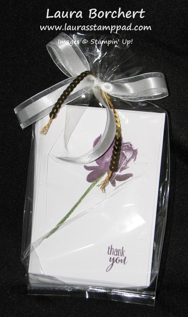 Gift Idea, Lotus Flower,www.LaurasStamppad.com