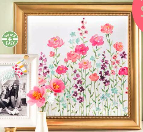 Framed Blooms