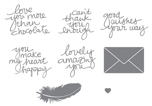 Lovely Amazing You Stamps