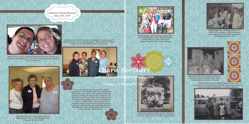 My Digital Studio Family Album, www.LaurasStampPad.com