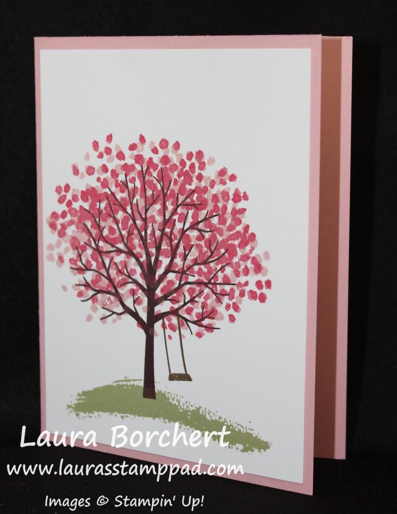 Sheltering Tree Spring, www.LaurasStampPad.com