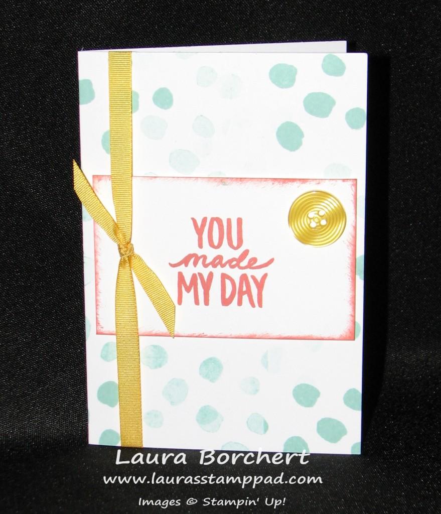 best day ever, www.LaurasStampPad.com