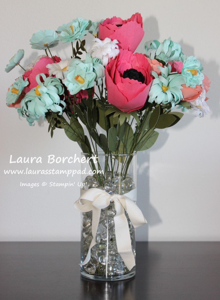 Build A Bouquet, www.LaurasStampPad.com