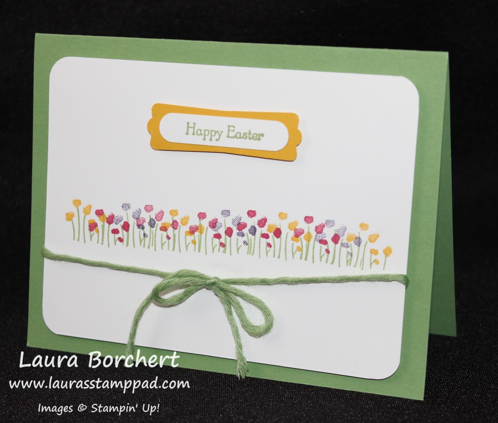 Easter Sheltering Tree, www.LaurasStampPad.com