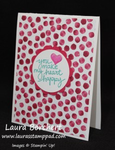 Painted Blooms, Lovely Amazing You, Epoxy, www.LaurasStampPad.com