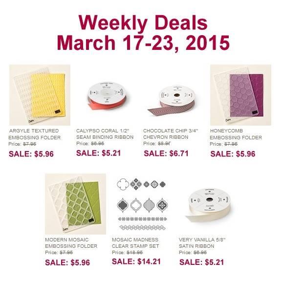 Weekly Deals 3.17