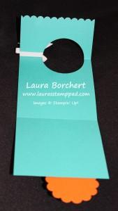 Flip Flap Fold, Birthday Candle, www.LaurasStampPad.com
