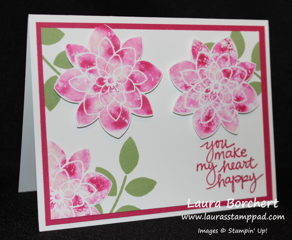 Baby Wipe Flowers, www.LaurasStampPad.com