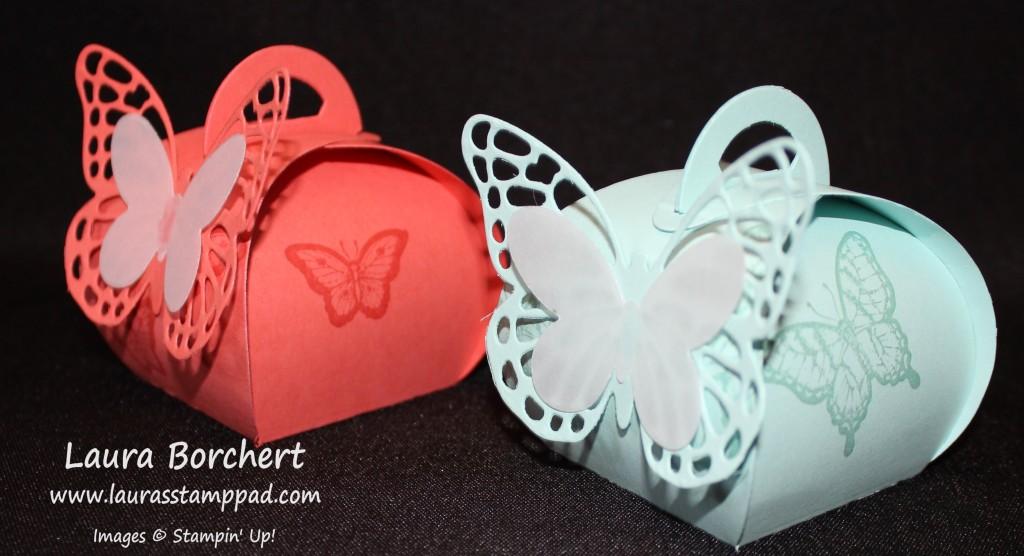 Butterfly Curvy Keepsake Box, www.LaurasStampPad.com