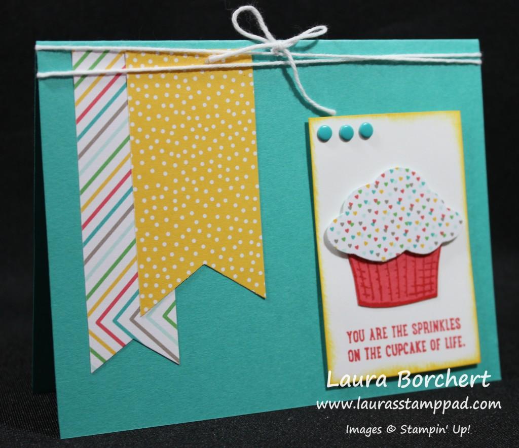 Cupcakes Sprinkles of Life, www.LaurasStampPad.com
