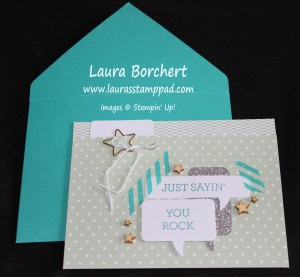 File Folder Card, Hooray It's Your Day, www.LaurasStampPad.com