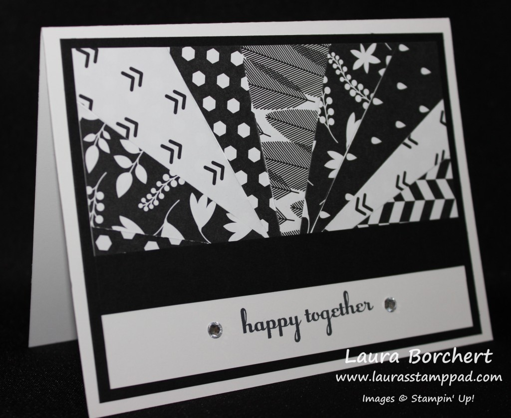 Designer Paper Scraps Rays, www.LaurasStampPad.com