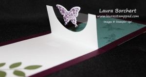 Butterfly Pop Out Card, www.LaurasStampPad.com