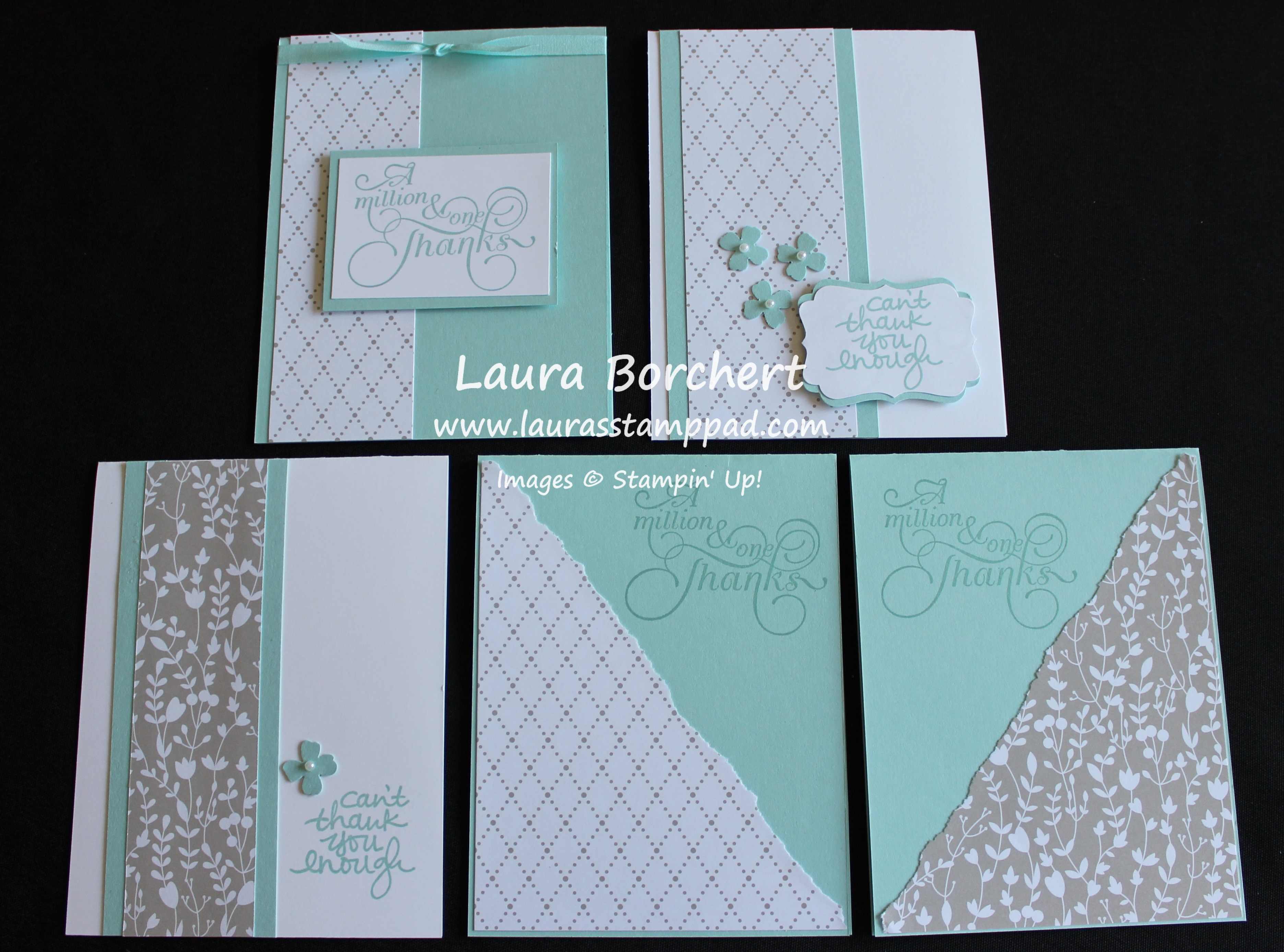 bridal shower thank you notes wwwlaurasstamppadcom