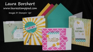 Hooray It's Your Day Card Kit, www.LaurasStampPad.com