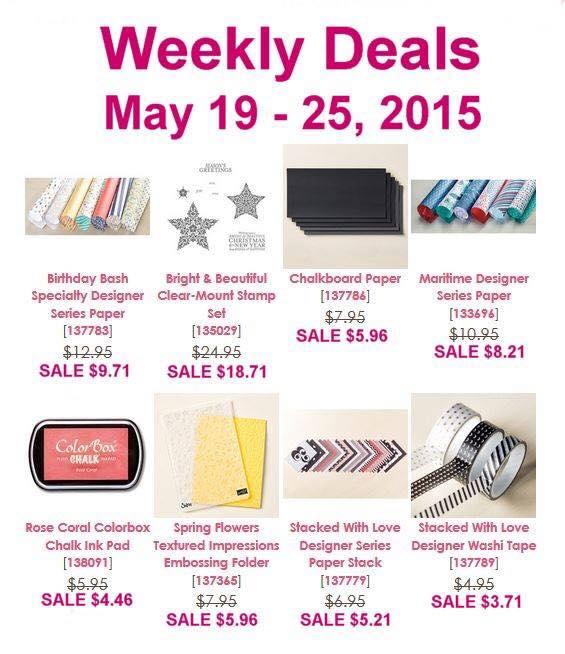 Weekly Deals 5.19