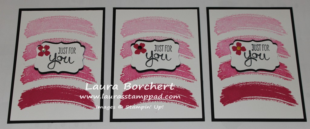 Work of Art, Shades of Pink, www.LaurasStampPad.com