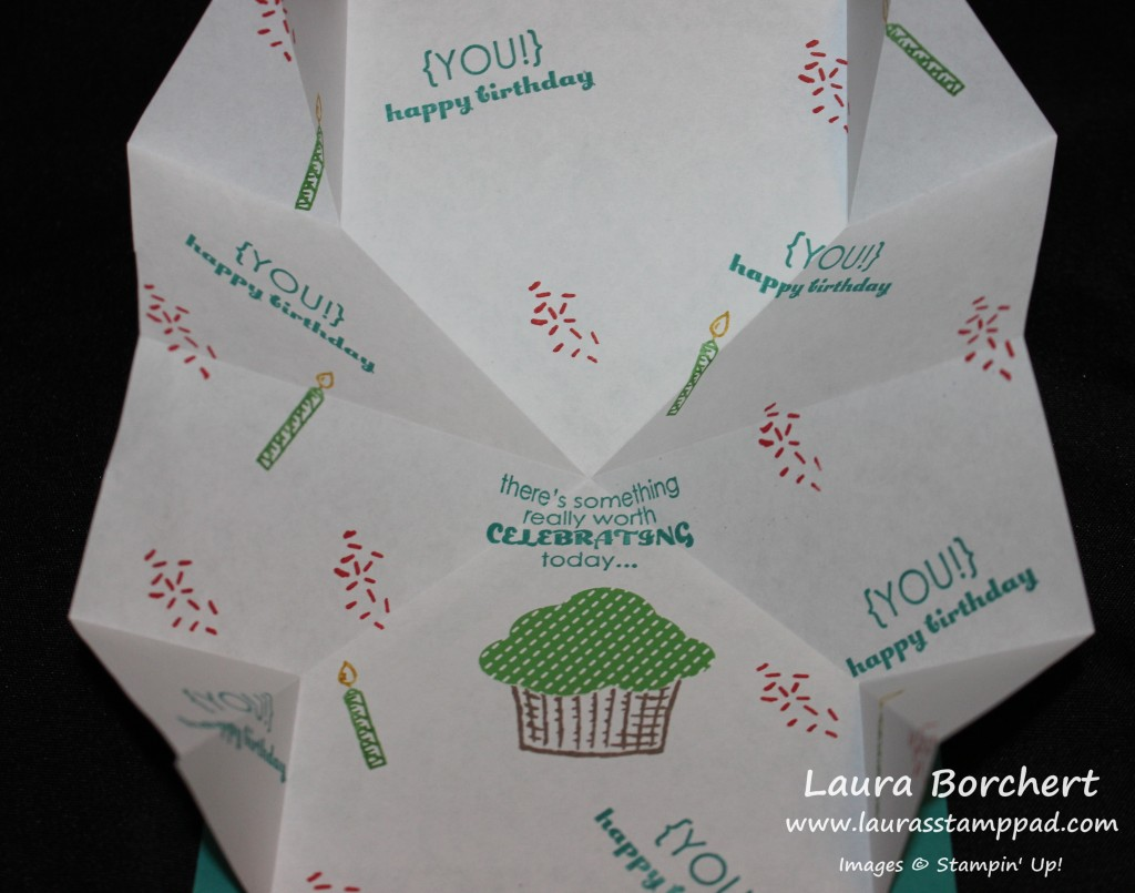 Pop Up Explosion Card, www.LaurasStampPad.com