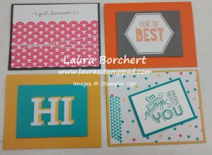 Project Life Greeting Cards, www.LaurasStampPad.com